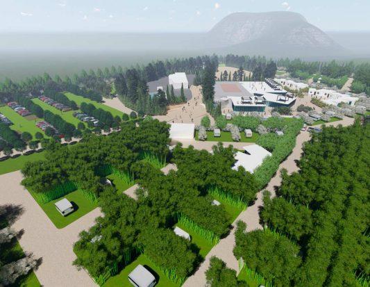 Proyecto urbanístico de Camping