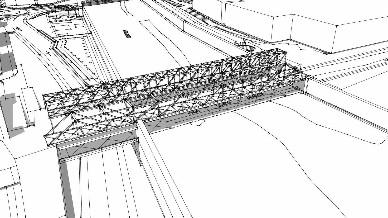 Sketch Proyecto para avenida Santa Clara