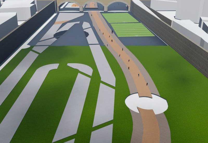 Propuesta de renovación para la Av Santa Clara por PSM